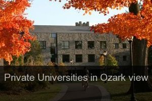 Private Universities in Ozark view