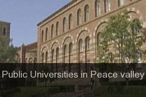 Public Universities in Peace valley