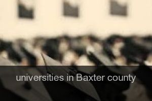 Universities in Baxter county