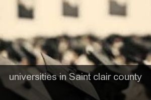 Universities in Saint clair county
