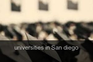 Universities in San diego
