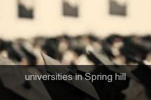 Universities in Spring hill